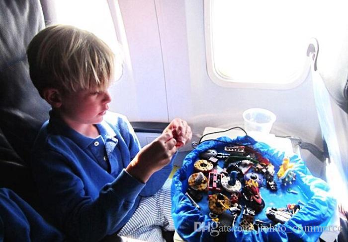 é bébé jouet tapis 150 / 45cm jouet tapis jouet sac de rangement portable jouets sac de rangement couverture coiffes jouets organisateur cadeau de Noël