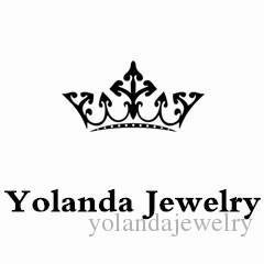 Yolanda Bijoux 2016 Coréen Délicat Boucles D'Oreilles Fine Boucle D'oreille Clip Vert Clair CZ Boucles D'oreilles Bijoux De Mode pour Promotionnel