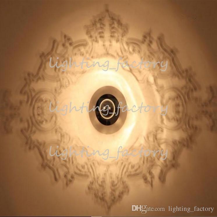Al por mayor-moderno Ligne Roset Wall Light Proyectivo Louis 5D Ilusividad Vela Lámpara de pared Espejo Sombra de iluminación