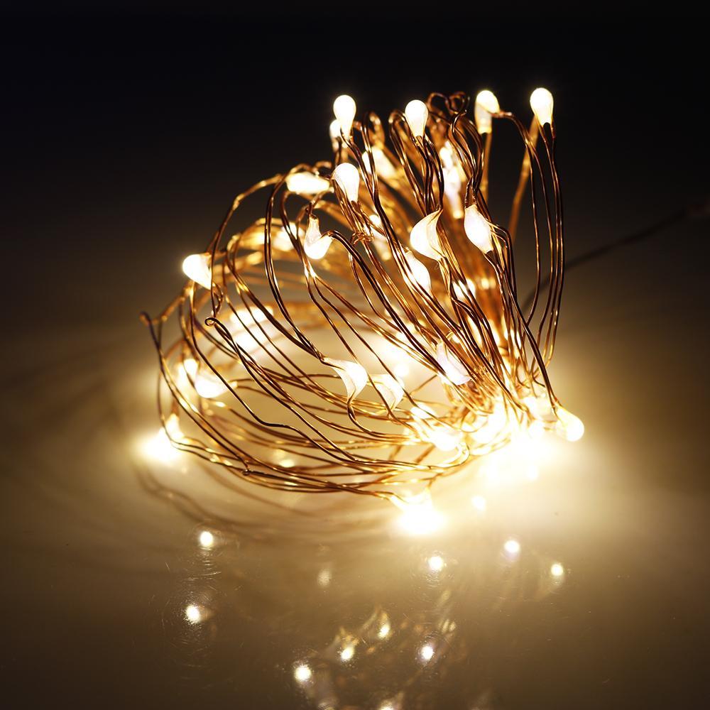 Wholesale Led Christmas Light 20 40leds Copper String Battery ...