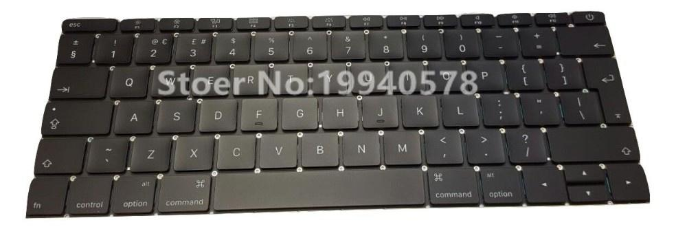100% NEW Original Laptop Keyboard SP version For Mac book A1534 Spain Spanish Keyboard Without back light Replacement 2015