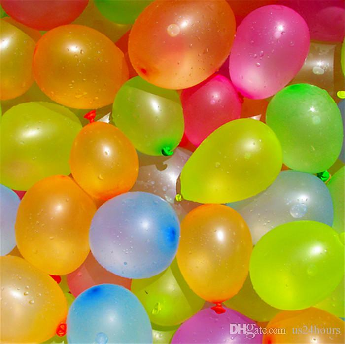 120 rubber +1 tool small balloons Water polo round multicolor latex balloon wedding party summer outdoor fun toy balloons