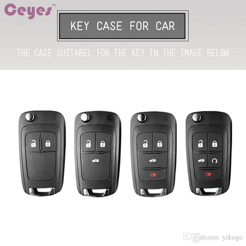 Car accessories key cover case for Chevrolet Captiva Malibu Cruze Aveo Epica Comaro Trax Car key shell protective car styling