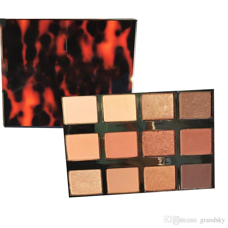 브랜드 뉴 메이크업 팔레트 tartelette toasted Eyeshadow 팔레트 DHL 컬러 팔레트 12 색 팔레트 무료 배송