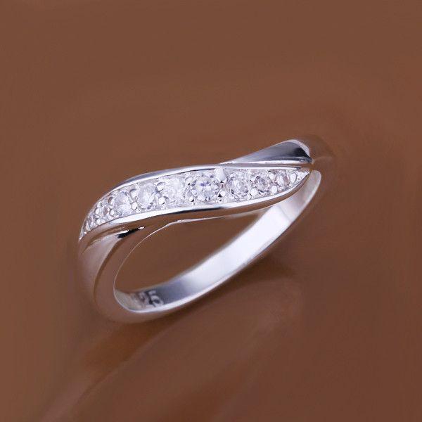 Marke neuer hochgradiger Silberring 10 Stücke gemischte Art, Art und Weise 925 silberner Ring GTR6 Verkauf der Fabrik