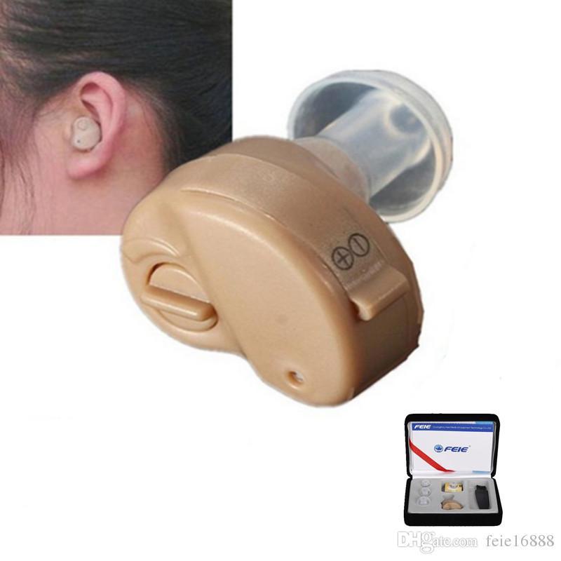 Audífono analógico portátil Nuevos mejores audífonos Detrás del sonido Amplificador Auriculares ajustables para audífonos sordosS-212
