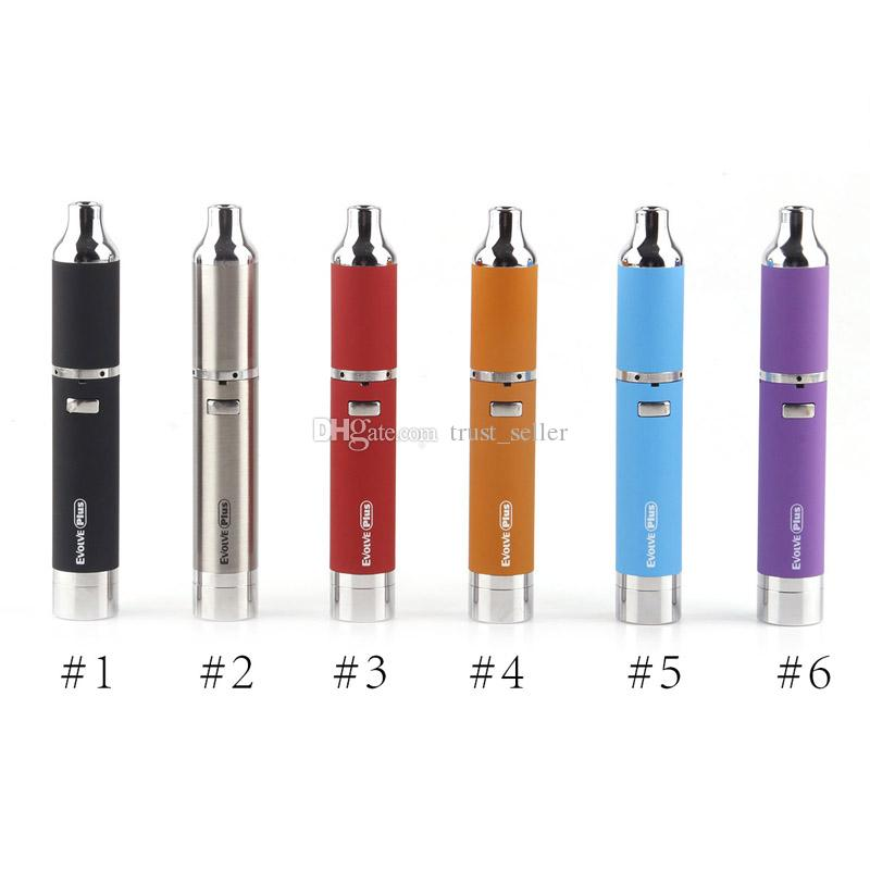 Authentic Yocan Evolve-C Evolve-D Evolve Plus Hive 2.0 Starter Kit Wax Dry Herb Pen Vaporizer 650/1100mAh Battery Thick Oil/Wax Atomizers