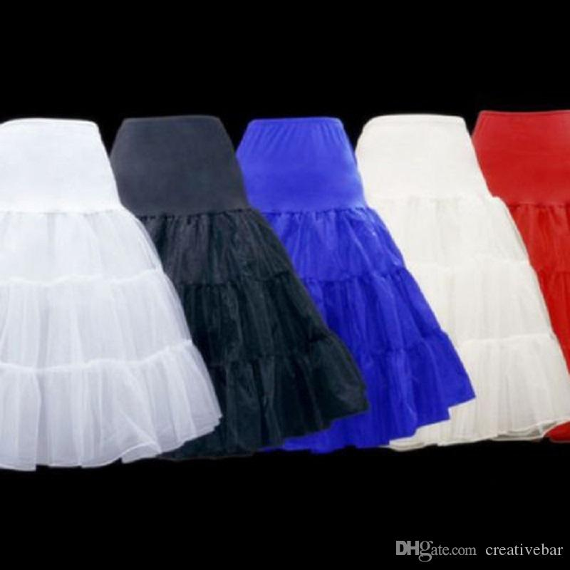 "26"" 50s Retro Underskirt Swing Vintage Petticoat Fancy Net Skirt Rockabilly Tutu Petticoats Bridal Accessories (15 Colores To Choosing)"