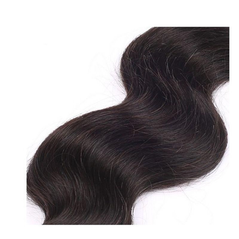 100% cheveux humains 8 '' - 30 '' faisceaux brésiliens d'armure de cheveux 100g 8A vague brésilienne de corps de cheveux vierges