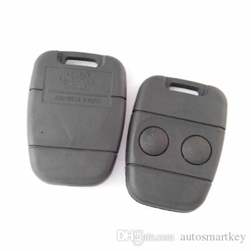 replacement key shell 2 button remote key case FOB for lan rove car key cover