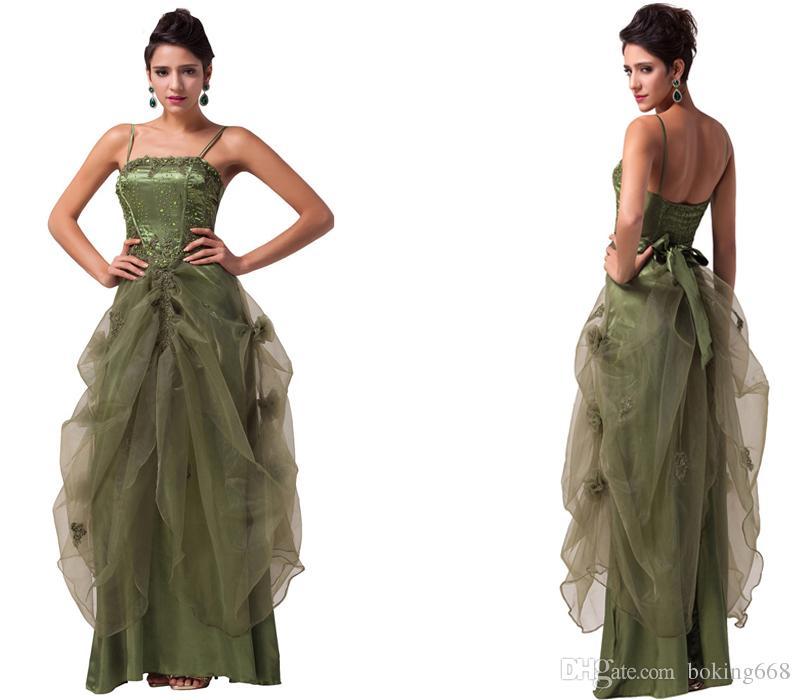 Verde preto branco Borgonha longos vestidos de baile 2019 vestido de baile vestido de festa Spaghetti Straps cetim vestidos formais Sexy vestidos de noite formal