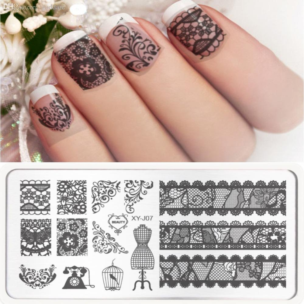 Wholesale New 2016 Nail Stamping Plates Stamp Nail Art Template