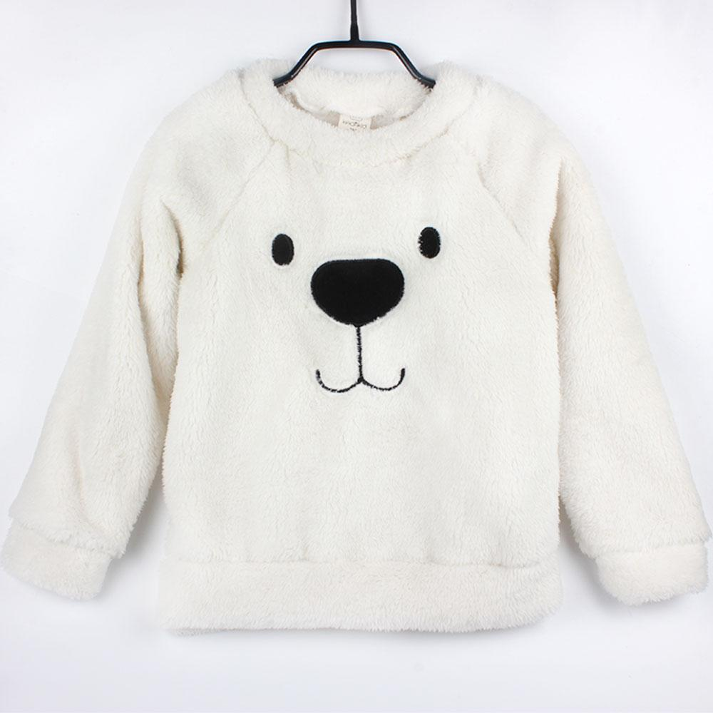 046a592d47bf Winter Thick Sweater Coat Cartoon Bear Children Baby Sweaters ...
