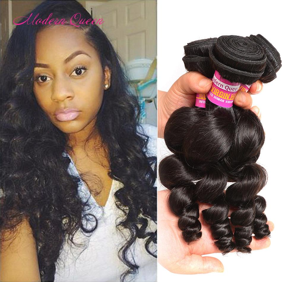 Peruvian Loose Curl Human Hair Extensions Cheapest Peruvian Loose