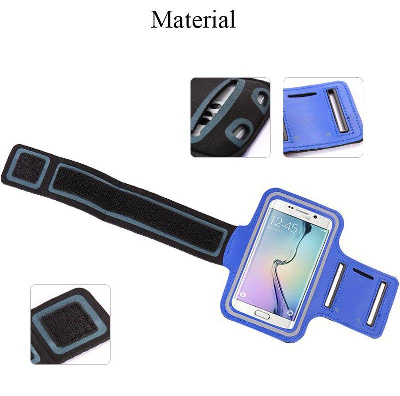 Iphone 7 Sport étanche Courir Courir Sac Case brassard entraînement brassard Porte-Pounch pour iPhone Mobile Cell Phone Arm Band Bag
