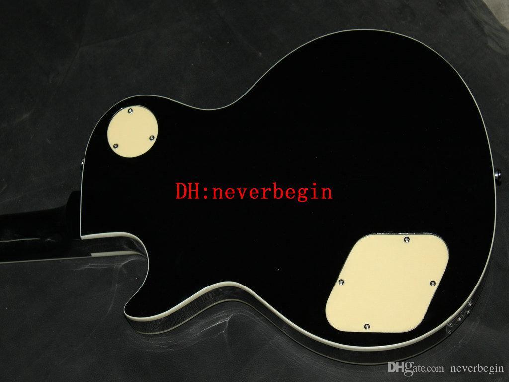 Ace Frehley firma chitarra grigio fiamma acero finitura lucida crema 3 pickup chitarra elettrica