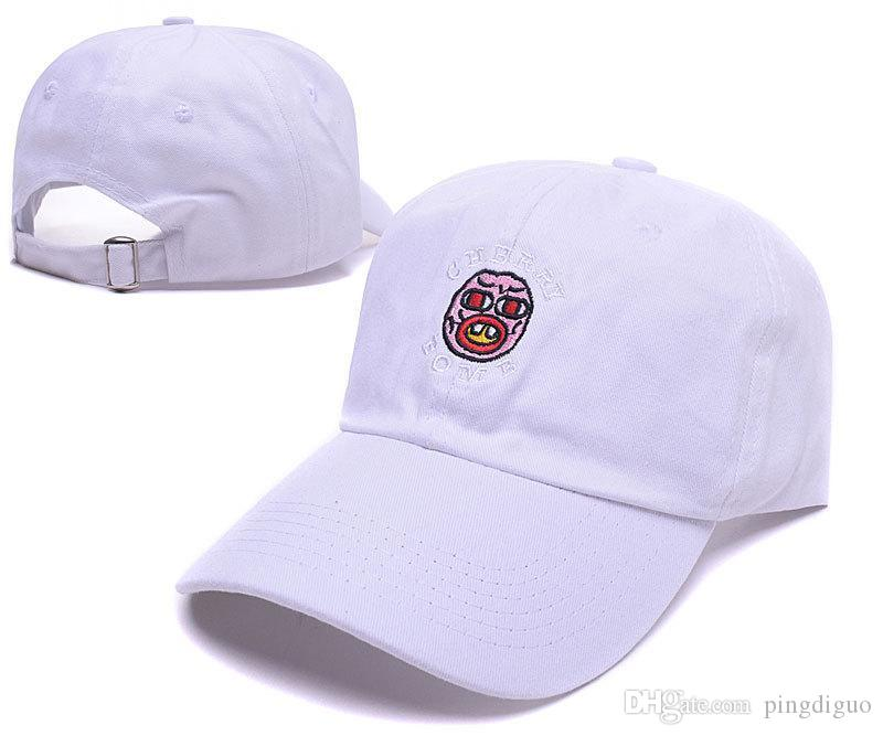 b5eea22427c0 New Golf Wang Cherry Bomb Snapback Hats Brand Men s Adjustable Hip ...