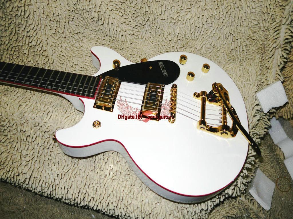 Chitarra elettrica Custom Shop più nuova IN bianca Con sistema tremolo OEM dalla Cina A88899