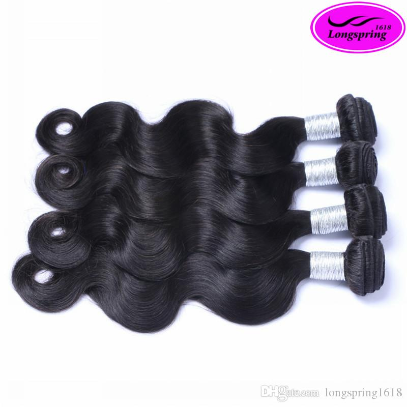 Clearance Sale!!! Best Selling 8A Quality Peruvian Body Wave Extensions 100% Unprocessed Human Hair Weaves
