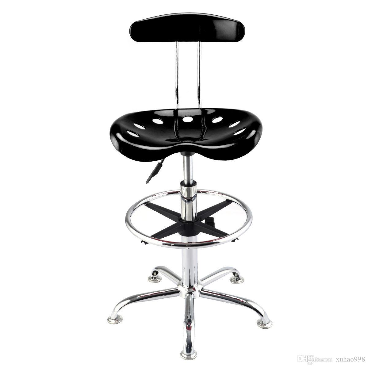 2018 Adjustable Bar Stools Abs Tractor Seat Chrome Kitchen Drafting Chair  Black From Xuhao998, $31.16 | Dhgate.Com