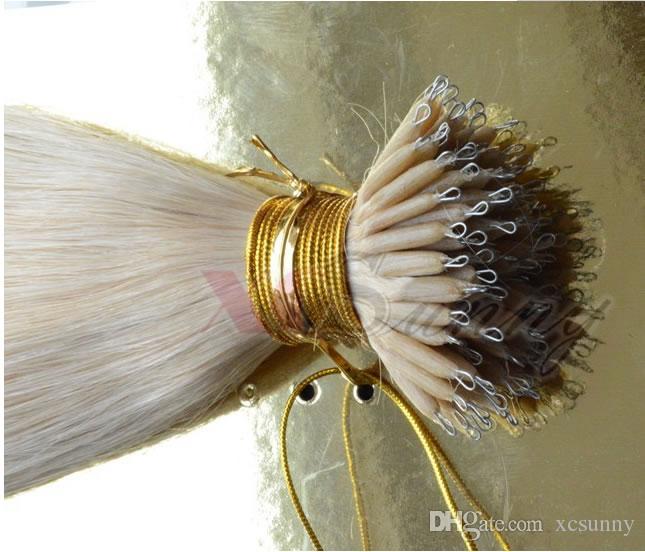200 stücke Kleinste Micro NANO Ringe / Links / Perlen Für Nano Haarverlängerungen tool kit 6 Farben Optional 2,5mm durchmesser