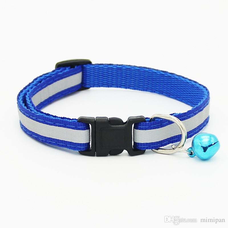Reflective Brand Adjustable dog cat traction rope chain collar pet dog leash telescopic dog collar bells pet products