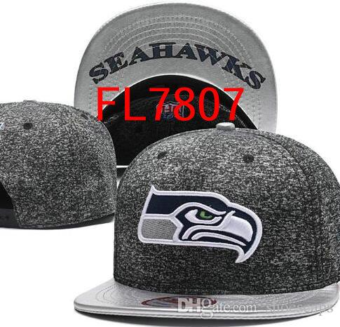 2018 Wholesale Seattle Seah Caps Embroidery Hats Snapback Adjustable