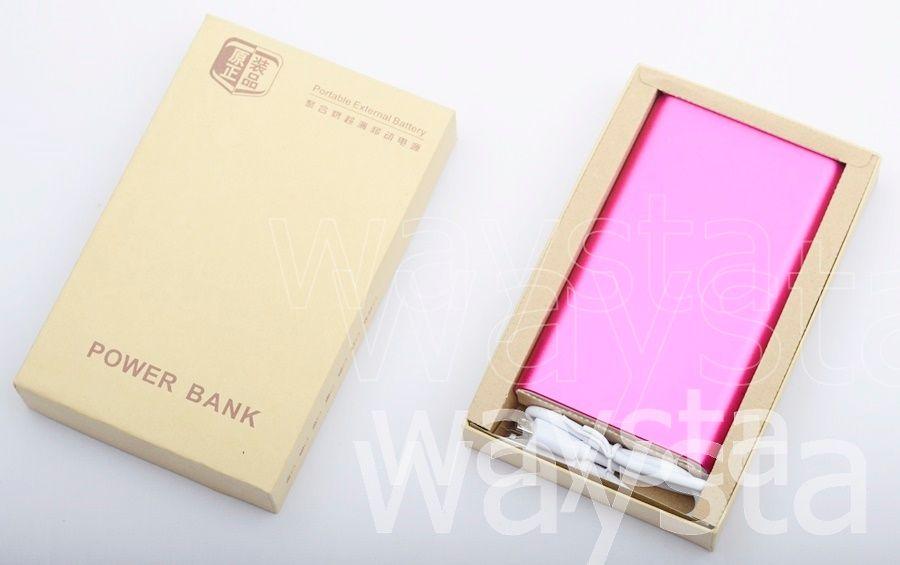 Factory Wholesale,Custom LOGO high quality Power Bank 20000mah Powerbank 2 USb output Universal Phone Charger Externa Battery
