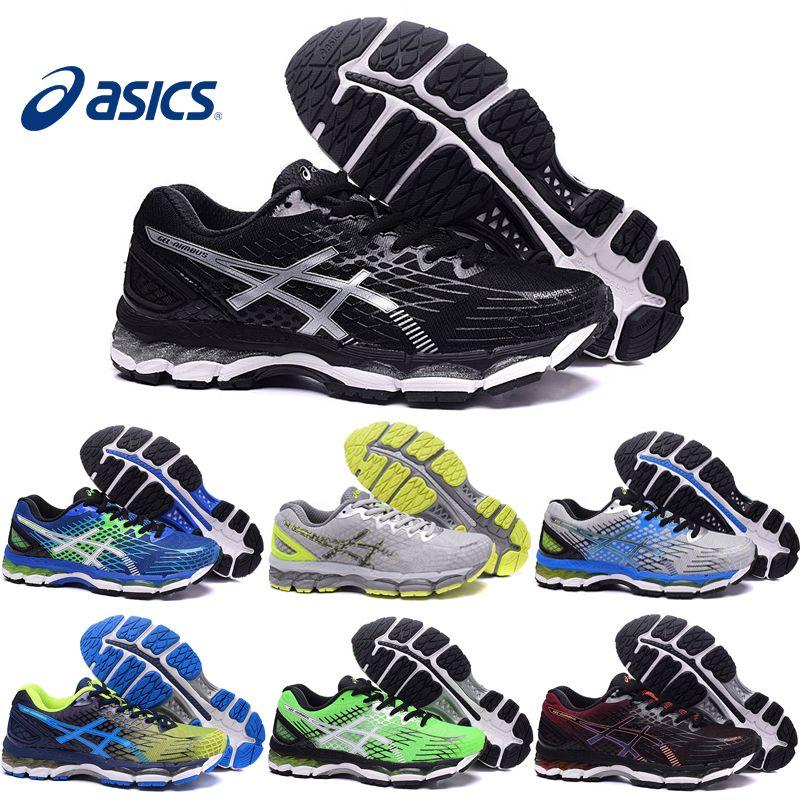 Compre Asics Gel Nimbus 17 Xvii Homens Tênis De Corrida 100% Original  Barato Tênis De Corrida Novo Respirável Calçados Esportivos Ao Ar Livre  Frete Grátis ... b195f62fdba9c