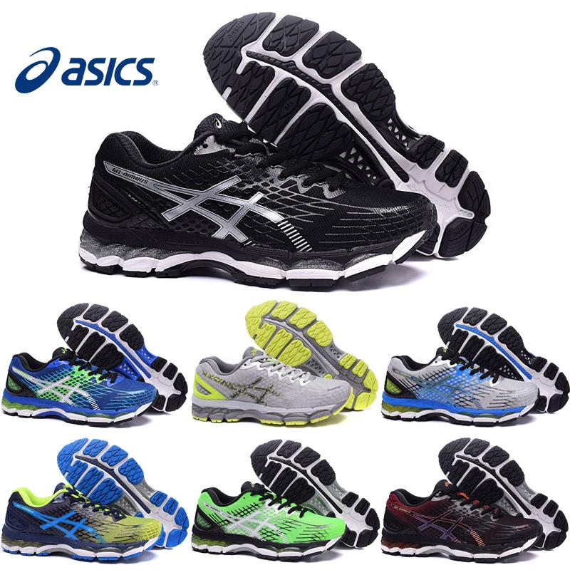 2018 Asics Gel Nimbus 17 Xvii Men Running Shoes 100% Original Cheap Jogging  Sneakers New Breathable Outdoor Sports Shoes Size 40 44 From Strive1616, ...