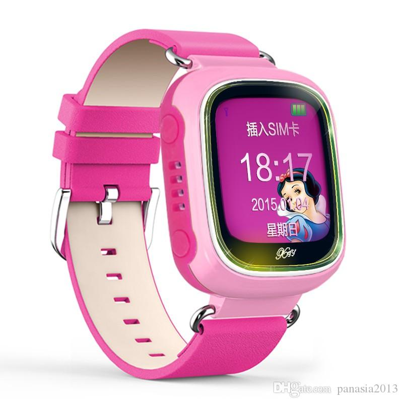 Luxury Bluetooth Smart Watch Fashion Wrist Smartwatch children Wristwatch Wearable Digital Device for IOS GSM GPS positioning Q70