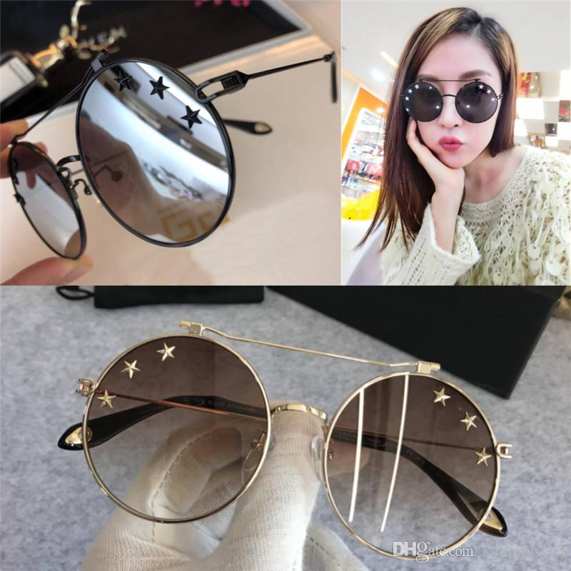 116d07bcef9 2019 GV 7079 The Latest Fashion Classic Luxury Three Star Design Sunglasses  The Best Metal Ladies Men The Best Quality Sunglasses Design Usher From ...