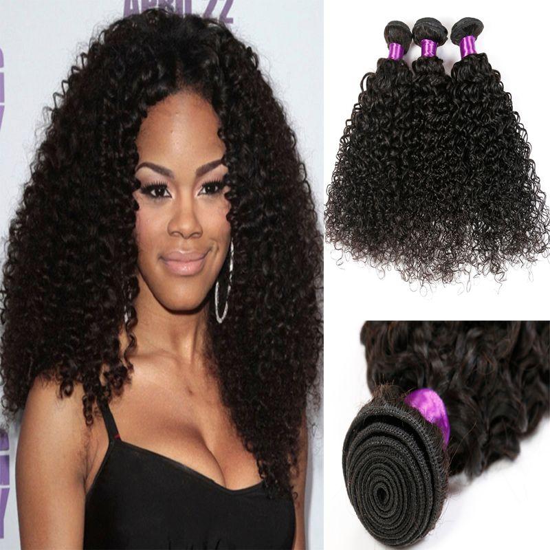Mongolian Kinky Curly Virgin Hair Extension Kinky Curly Hair Weave