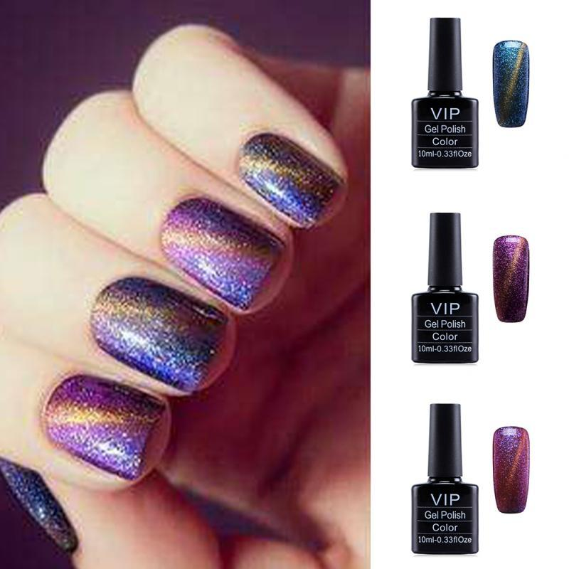 10ml 3d Magnetic Cat Eyes Nail Gel Polish Brand Led Gel Nail Varnish ...