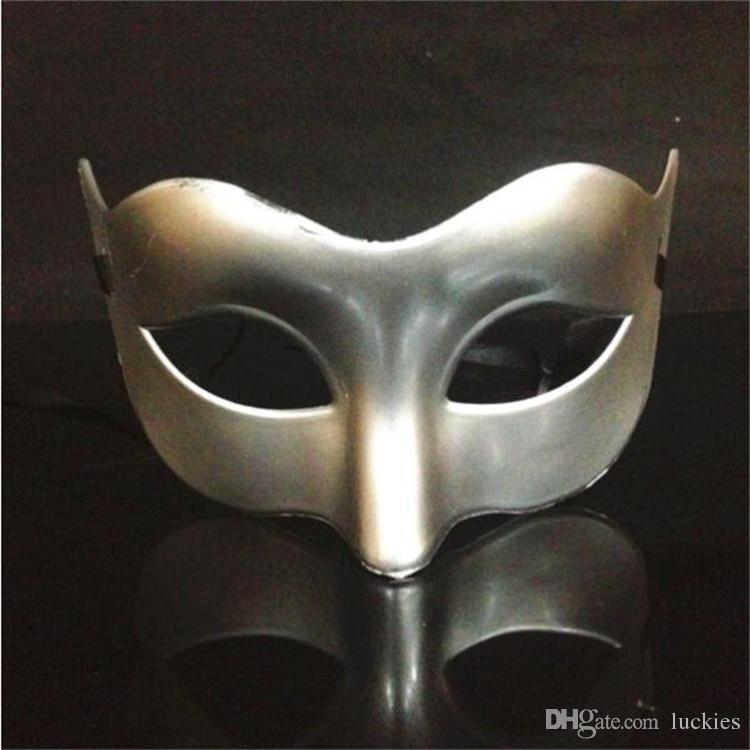 Cute fox mask black white gold silver venetian masquerade party masks decoration Halloween carnival mardi gras gift mask