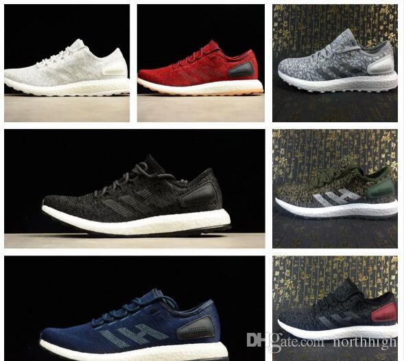 4102084b7 2017 New All White Pure Boost 2.0 DPR Sneakers Men Footwear Triple White  Women Running Shoes Pure Boost 2.0 DPR Collection Mens Shoes Online Green  Shoes ...