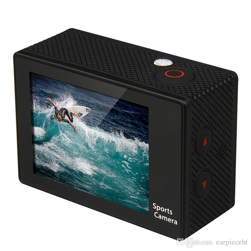 Precio bajo SJ4000 estilo A9 pulgadas pantalla LCD 1080P Full HD cámara de acción 30M Videocámaras a prueba de agua SJcam casco deporte DV coche DVR