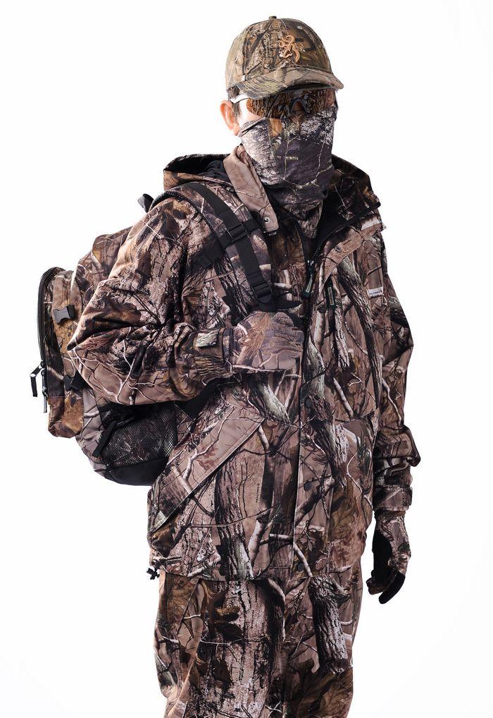 25% de descuento Remington impermeable Realtree AP Camo caza traje chaqueta de caza, baberos Realtree AP camuflaje sudaderas con capucha pantalones, ropa de pesca de caza