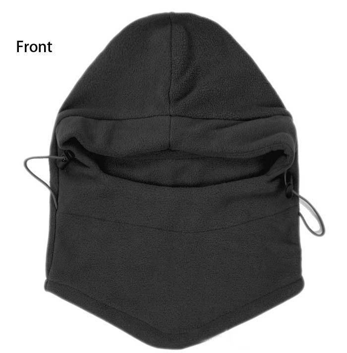Winter Windproof Sport Face Masks Ski Motorbike Biker Gear Black Masks Unisex Hood Hats Cycling Caps
