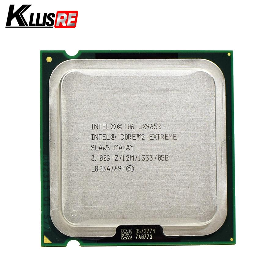 Intel Core 2 Extreme QX9650 3.0GHz 12M 1333FSB SLAN3 SLAWN LGA775 CPU Processor