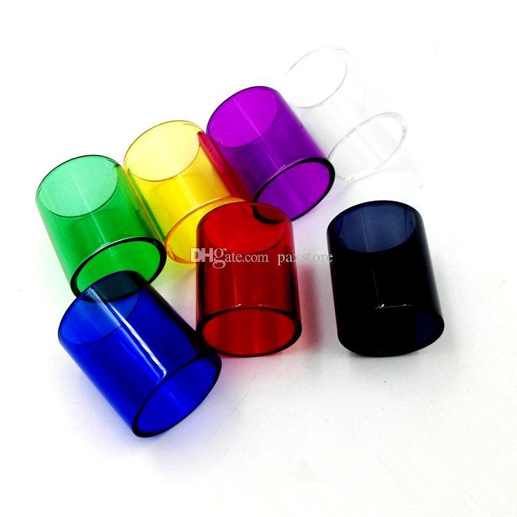 7 couleurs Subox Mini-C kit Protank 5 réservoir de remplacement en verre Tube pour Subox Mini-C Kit Protank 5 DHL GRATUIT