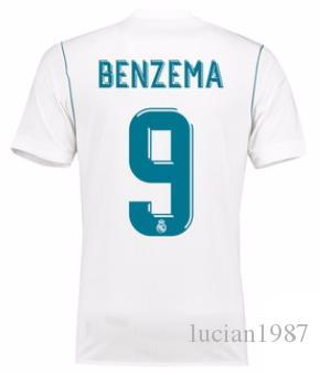 3bcb5f767e3 2019 1718 Real Madrid TOP Thai Quality Karim Benzema Customized Soccer  Jerseys Discount Cheap Football Jerseys Kroos RONALDO Football Shirts From  Lucian1987 ...