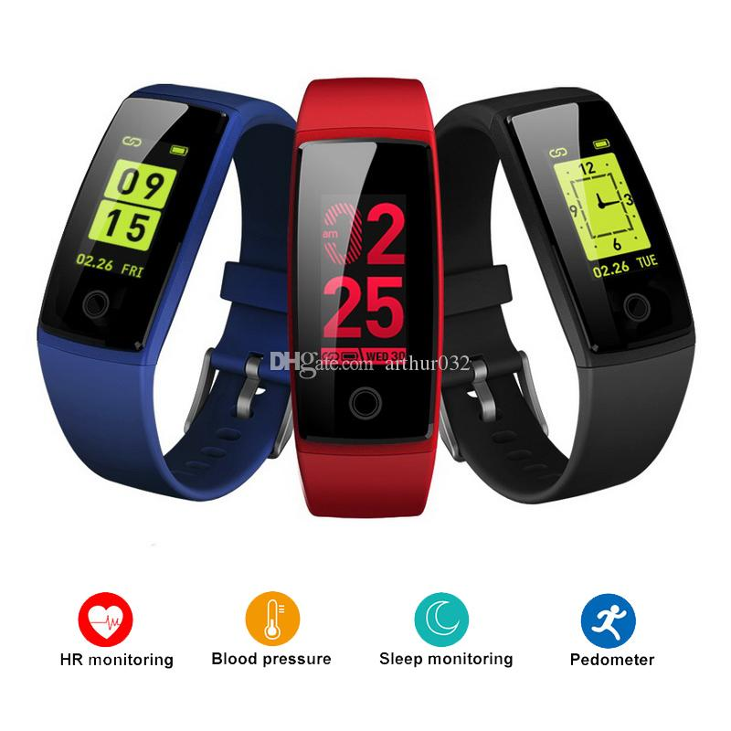 Collection Here 2018 New Sport Smart Bracelet Led Color Screen Fitness Tracker Pedometer Waterproof Smart Band Fitness Bracelet Pk Mi Band 3+box Selected Material Wearable Devices