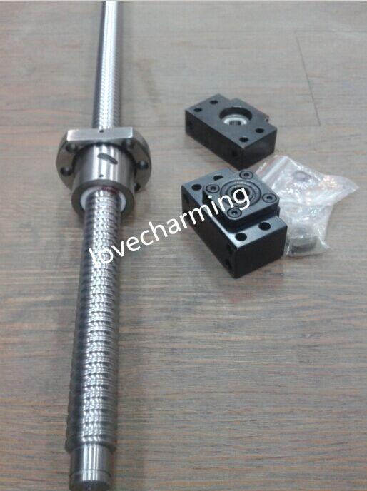 2019 1 Anti Backlash Ballscrew 2505 930mm Ball Screw End