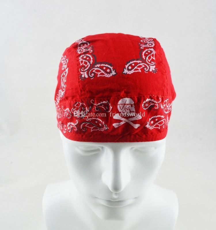 New Fashion Accessories Bike Scarf Cycling Cap Headwear Hat Kerchief Bicycle Bandana Pirate Hat Caps