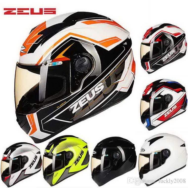 30b68ffcc6d66 Compre Certificação DOT ZEUS 811 Rosto Completo Capacete Da Motocicleta ABS  Motorcross Capacetes De Moto ZS 811 Quatro Estações Tamanho M L XL XXL XXXL  De ...