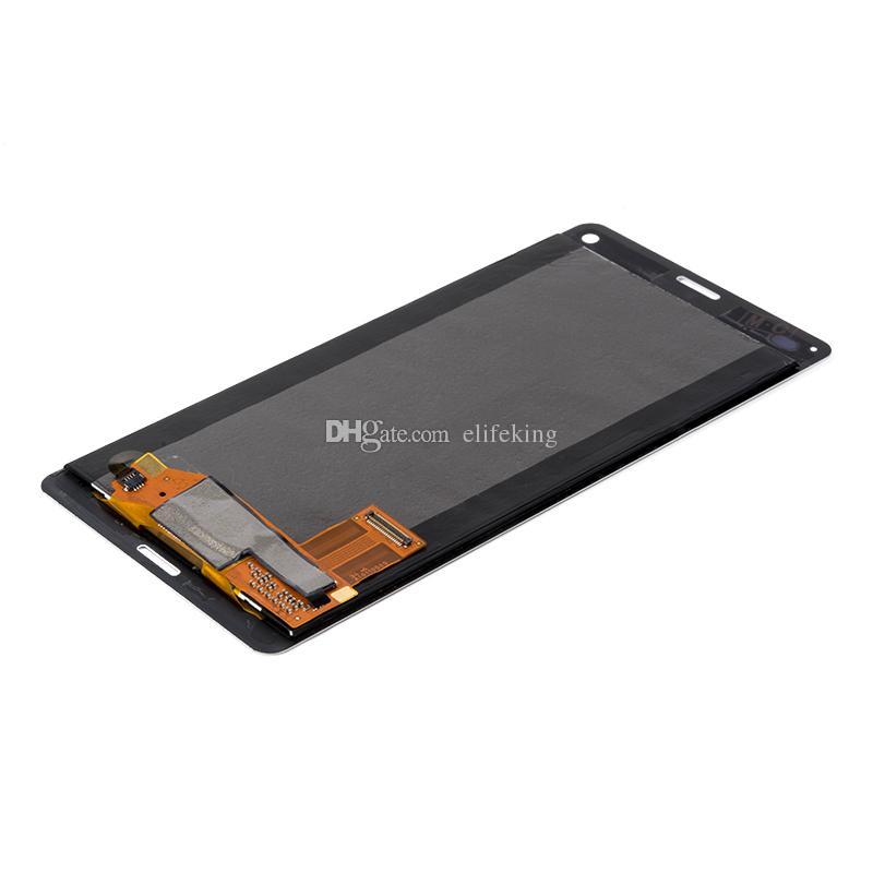 Sony Z1 Z2 Z3 Z4 Için LCD Ekran Dokunmatik Ekran Digitizer Meclisi Yüksek Kalite Yedek C6902 C6903 C6943 D6502 D6503 D6543 D6603 + Ücretsiz DHL