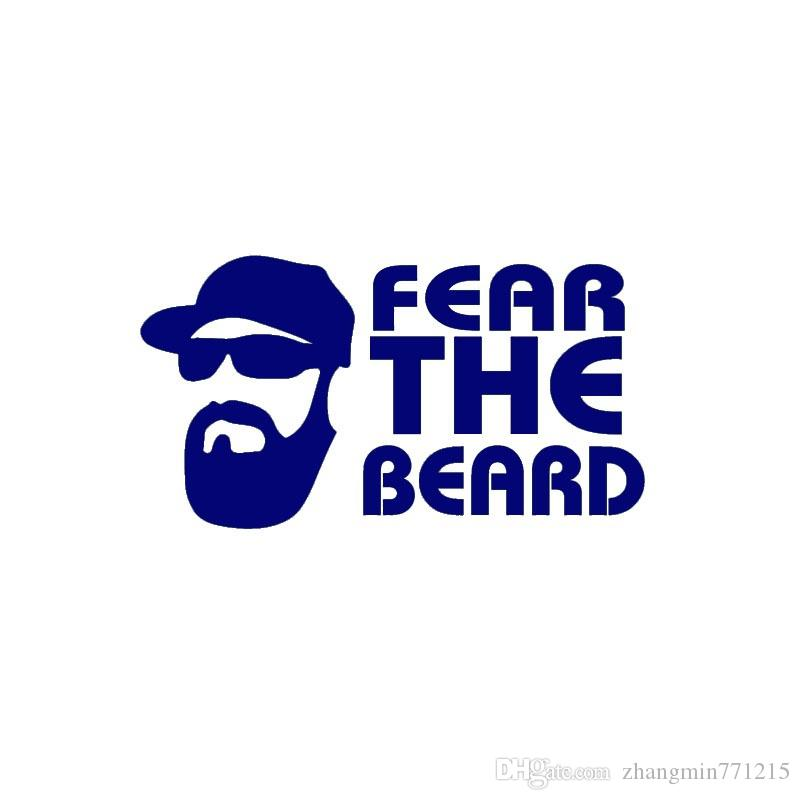 35b4ba9a177c 2019 Wholesale Home Decorations Automobile And Motorcycle With Products  Vinyl Decal Car Glass Window Stickers Jdm Fear The Beard From  Zhangmin771215