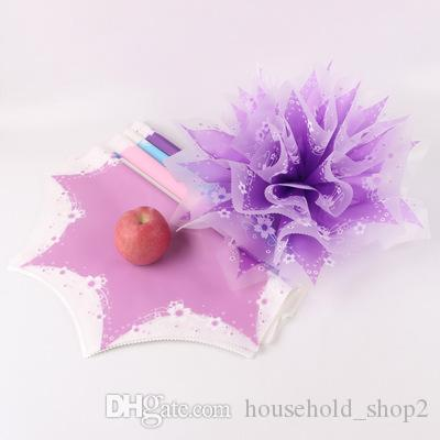 Apple Packaging Paper for Christmas Colorful Anise paper Christmas Eve Apple Wrapper Fog-faced Glass Paper Flowers packaging