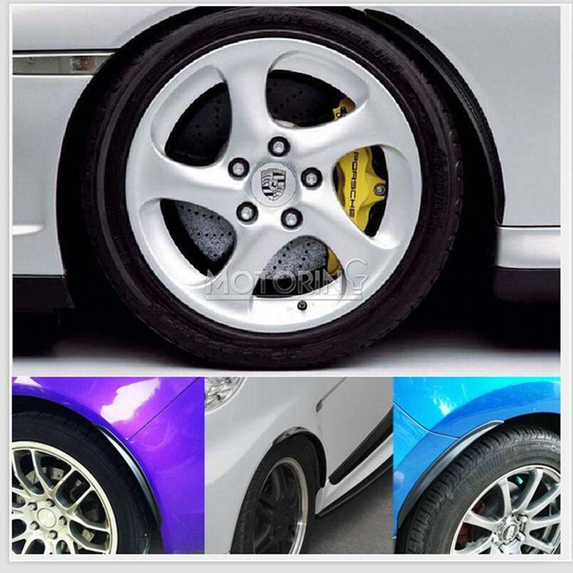 Großhandel Universal 2x Carbon Fender Flares Rad Lip Body Kits Auto ...